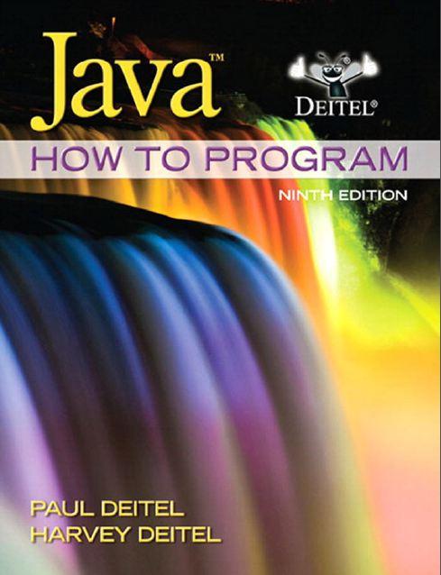 Deitel Java How to Program Early Objects 9th Ed 2012 (زبان اصلی)