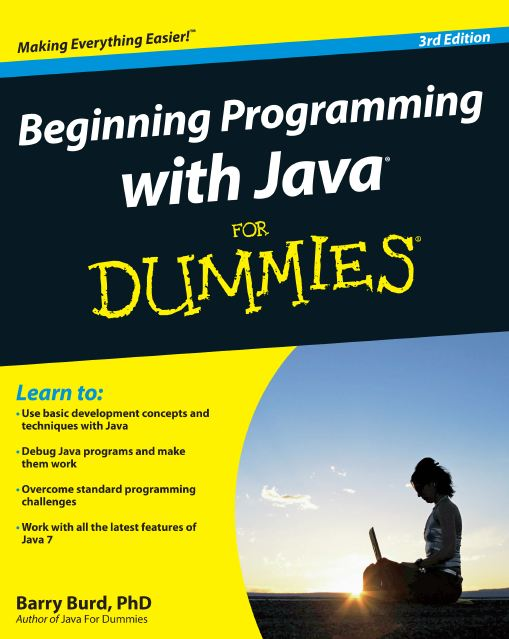 Wiley Beginning Programming With Java For Dummies 3rd Ed 2012 (زبان اصلی)