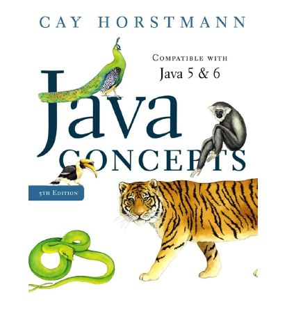 Wiley Java Concepts for Java 5 and 6 5th Ed (زبان اصلی)