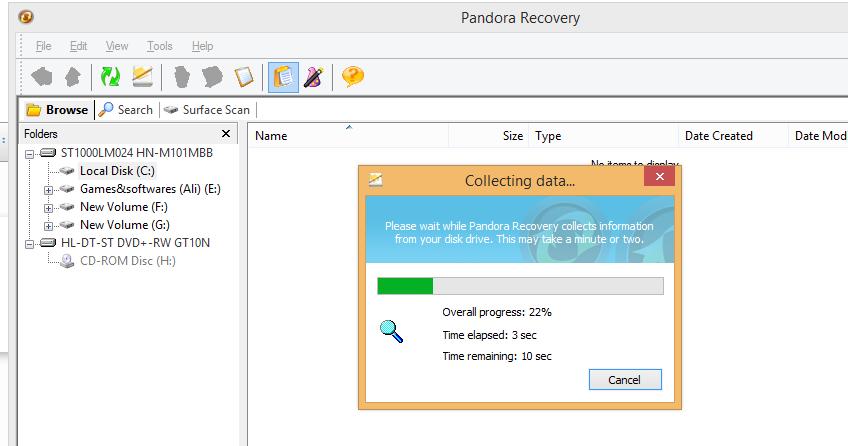 دانلود نرم افزار عالی pondora recavery ریکاوری فایل ها و برنامه های پاک شده