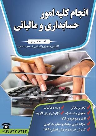 طرح لایه باز (PSD) تراکت موسسه انجام امور حسابداری
