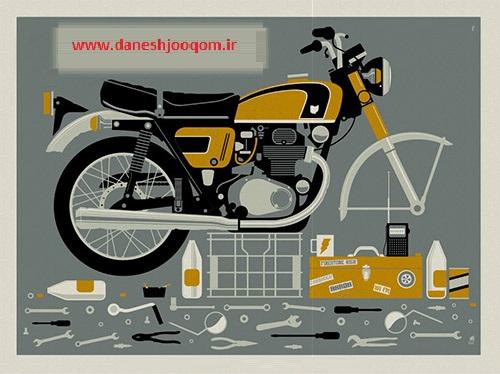 بهترین راهنمای آموزش تعمیرات موتورسیکلت سی جی 125 (کتاب + فیلم تصویری)