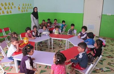 گزارش کارآموزی در مورد مهد کودک و پیش دبستانی