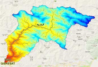 نقشه های GIS حوزه آبخیز کرج رود شهرستان البرز