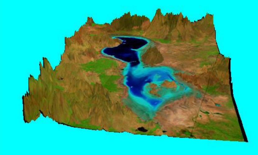 آموزش سه بعدی سازی در محیط نرم افزار Erdas Image