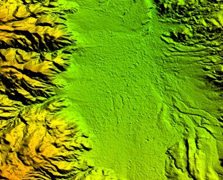 دانلود مدل رقومی ارتفاع 12.5 متری شهرستان چالدران