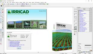 دانلود نرم افزار IRRICAD v15.06 به همراه کرک (نرم افزار ایریکد طراحی آبیاری تحت فشار و یا سیستم های تامین آب)