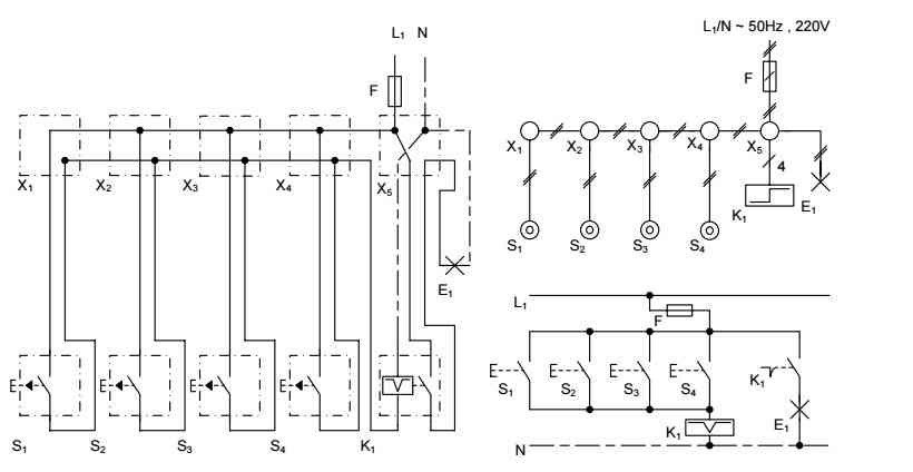 مجموعه اي از حدود هشتاد مدار و نقشه  برق ساختمان و برق صتعتي