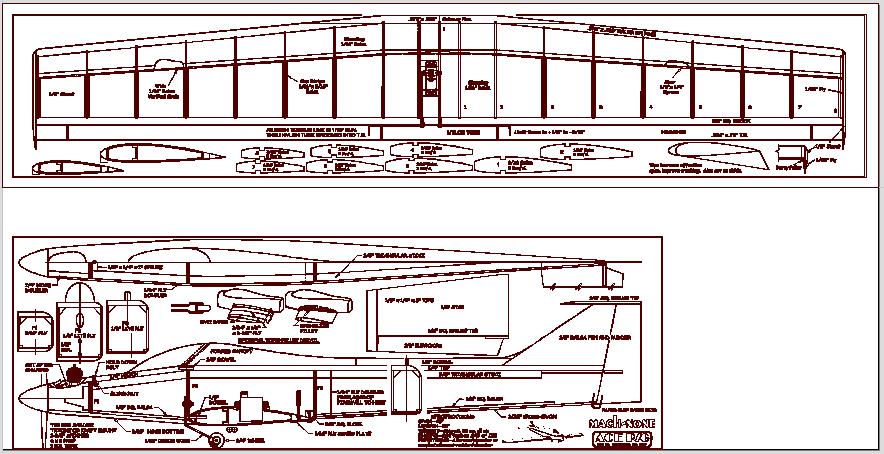 نقشه dxf هواپیما