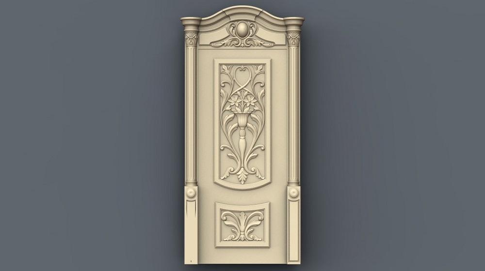 ساخت درب سه بعدی با 4 فایل stl