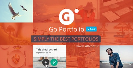 افزونه وردپرس طراحی پروژه و نمونه کار  | GO-Portfolio