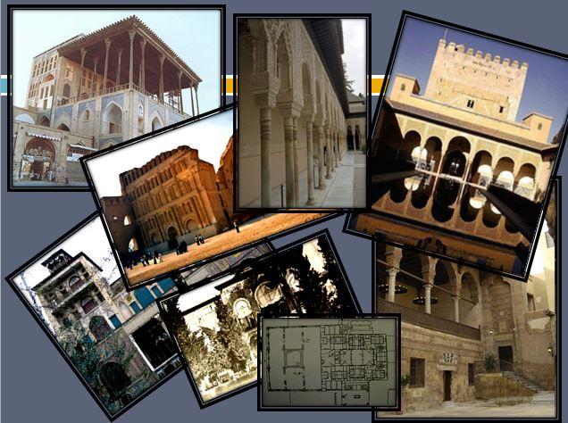 دانلود پاور پوینت معرفی کاخ های ایرانی وجهان اسلام