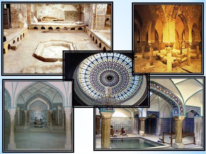 دانلود پاورپوینت تاریخچه حمام های سنتی ایران