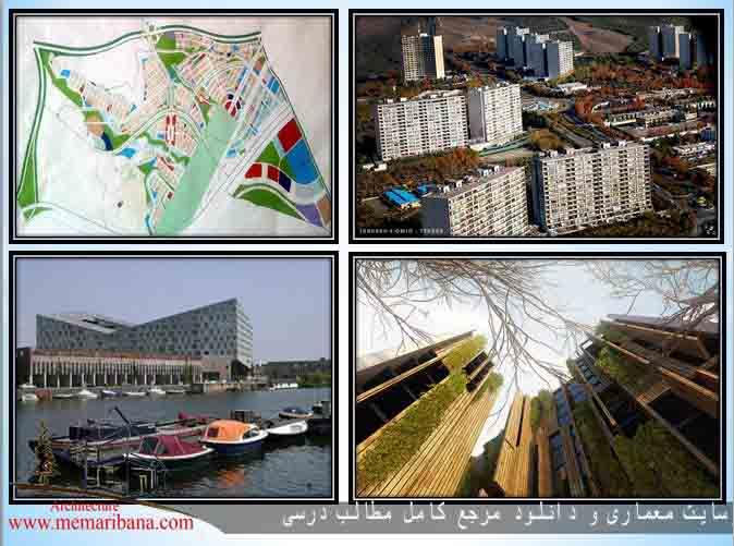 بررسی کامل مطالعات شهرک مسکونی(نمونه های داخلی و خارجی)