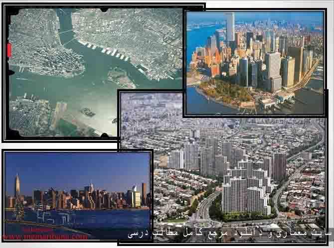 دانلود پاورپوینت معرفی عناصر تشکیل دهنده فضاهای شهری از نظر کالبدی