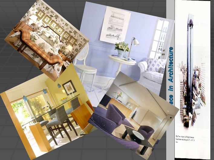 دانلود پاورپوینت مفهوم فضا در معماری ومبانی نظری معماری