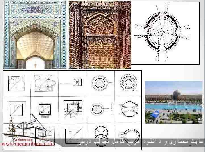 دانلود رساله معماری نقش هندسه در معماری مساجد