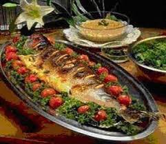 فایل صوتی آموزش آشپزی ماهی، میگو و مارمالاد