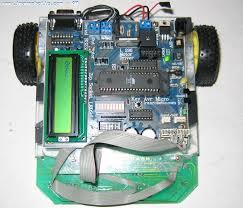 روبات تعقیب خط با میکرو کنترلر AVR