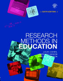 Research Methods in Education -6th Ed
