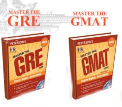 مشخصات و قیمت و خرید و دانلود کتاب  Master The GMAT  و کتاب  Master The GRE به صورت 2فایل pdf