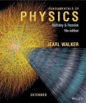 قیمت و خرید و دانلود حل المسائل و کتاب فیزیک هالیدی ویرایش10 دهم Fundamentals of Physics Extended, 10th Edition  David Halliday زبان اصلی pdf پی دی اف