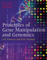 خرید و دانلود کتاب pdf اصول دستکاری ژن و ژنومیک  Principles of Gene Manipulation and Genomics SEVENTH EDITION by Sandy B. Primrose and Richard Twyman