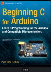 خرید و دانلود کتاب  آموزش کامل آردوینو Arduino زبان اصلی  276 صفحه به صورت pdf