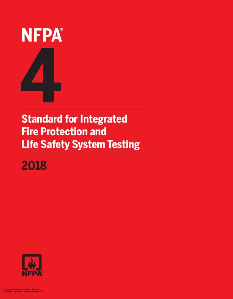 NFPA 4-2018