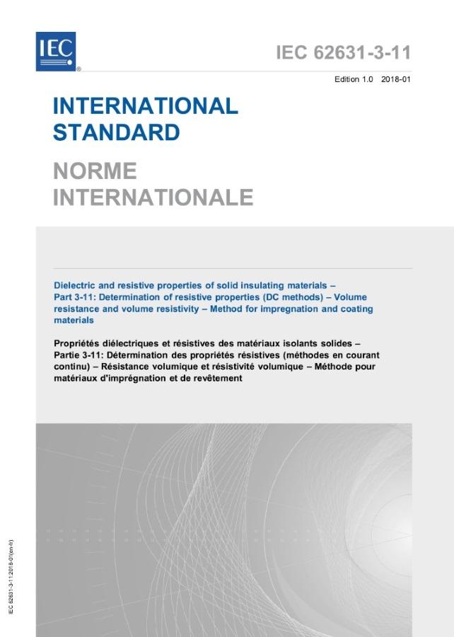IEC 62631-3-11: 2018