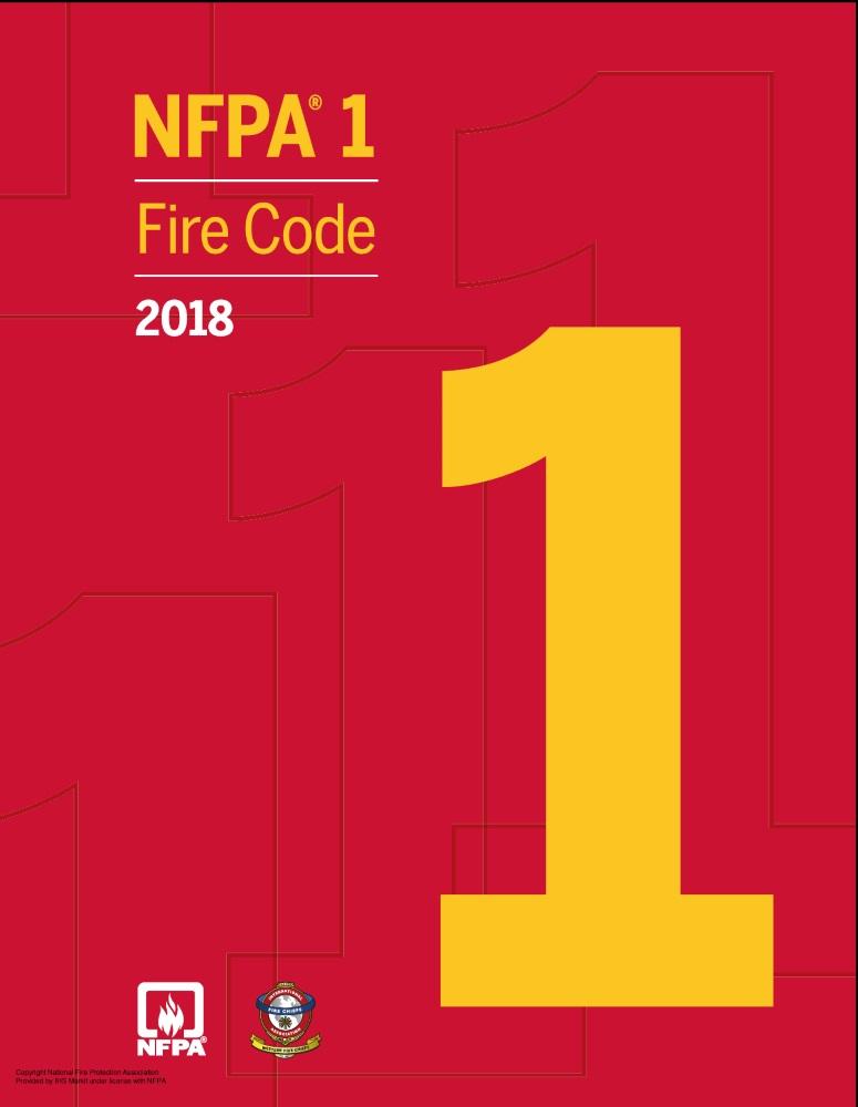 NFPA 1: Fire Code- 2018