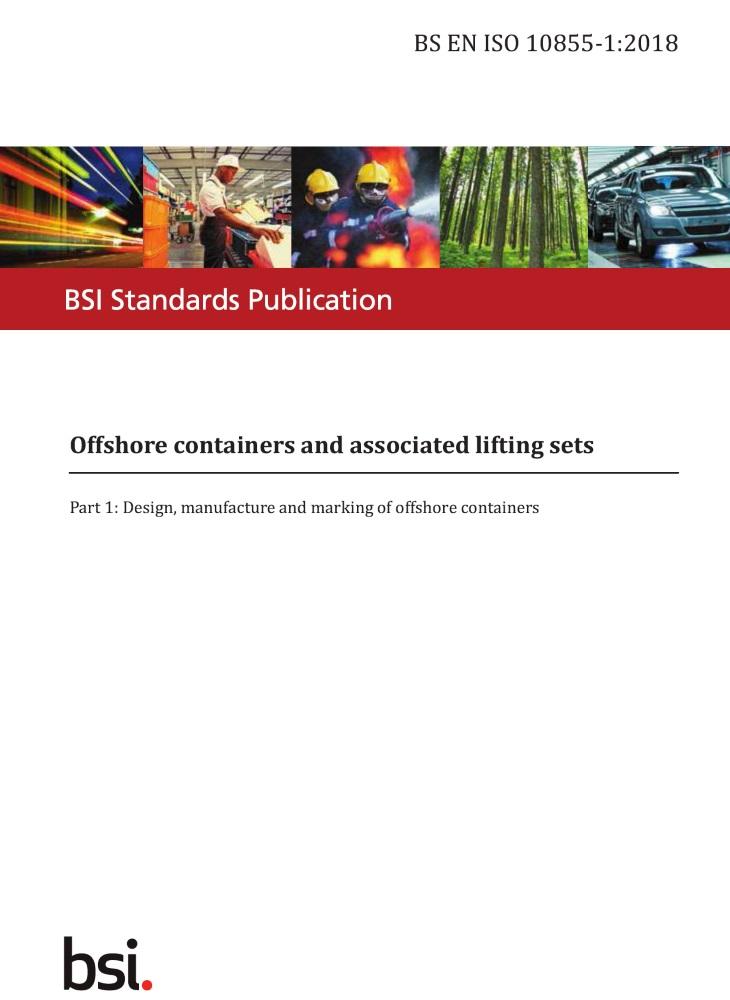 BS EN ISO 10855: 2018