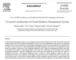 پایگاه داده ابری