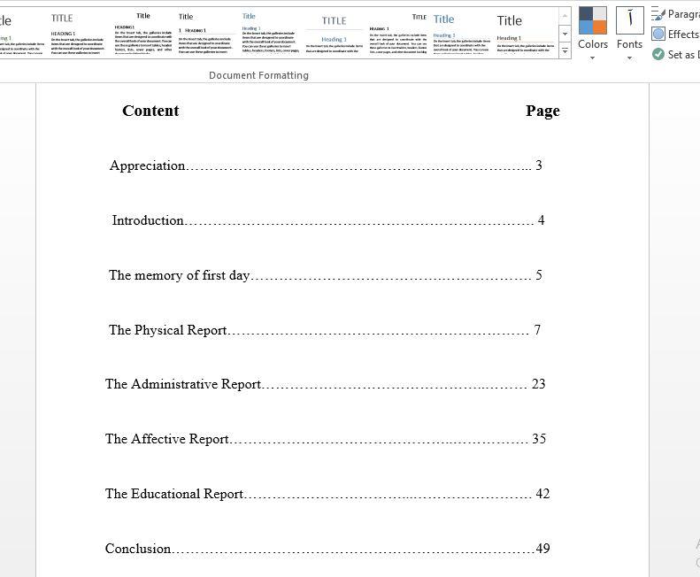 گزارش کارورزی 1 رشته دبیری زبان انگلیسی (Internship1 report)