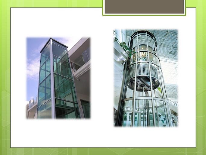پاورپوینت آسانسور پانوراما (هیدرولیکی)