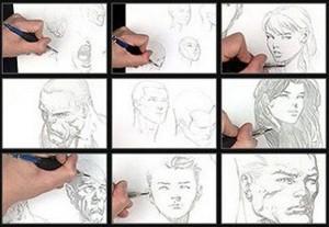 پکیج آموزش گام به گام طراحی چهره (پرتره)