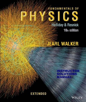 حل المسائل کامل فیزیک هالیدی چاپ دهم