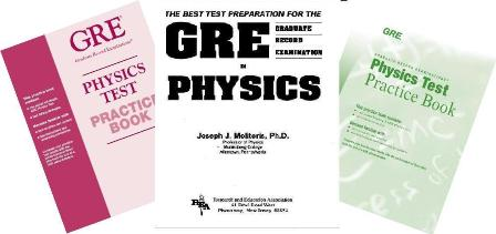 مجموعه کتاب های GRE Subject فیزیک