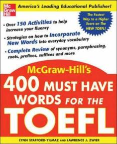 کتاب 400Must Have Words for the TOEFL