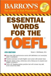 کتاب  Essential Words for the TOEFL
