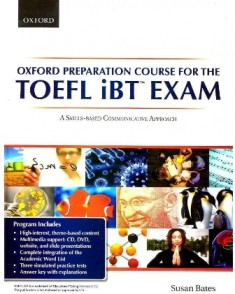 کتاب  Oxford Preparation Course for the TOEFL iBT Exam