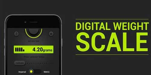 تبدیل گوشی اندروید به ترازوی دیجیتال! نمایش وزن اجسام سبک بر حسب گرم