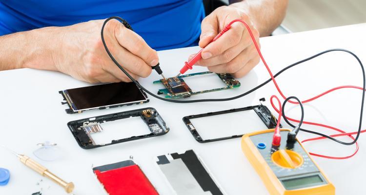 دانلود نمونه سوالات تعمیر تلفن همراه