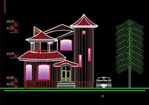 نقشه کامل معماری و سازه ویلا دوبلکس