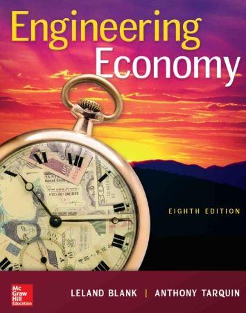 دانلود حل المسائل کتاب اقتصاد مهندسی للند بلانک Leland Blank