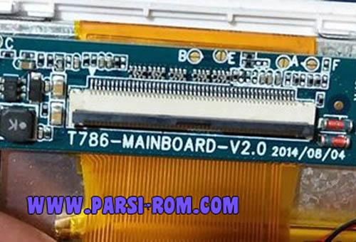 دانلود فایل فلش T786-MAINBOARD-V2.0