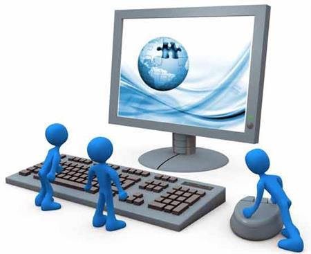 کامپیوتر صفحات وب