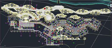 دانلود پلان کامل هتل 3 ستاره با جزئیات کامل