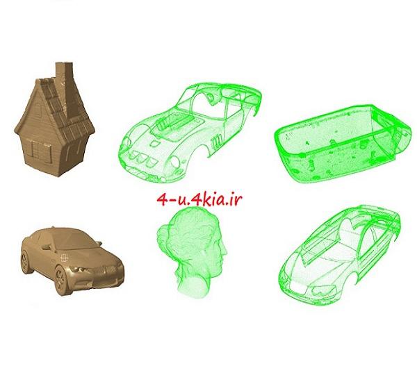 دانلود مجموعه مدل های ابرنقاط ( اسکن سه بعدی )