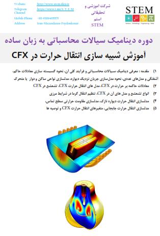 آموزش شبیه سازی انتقال حرارت در CFX